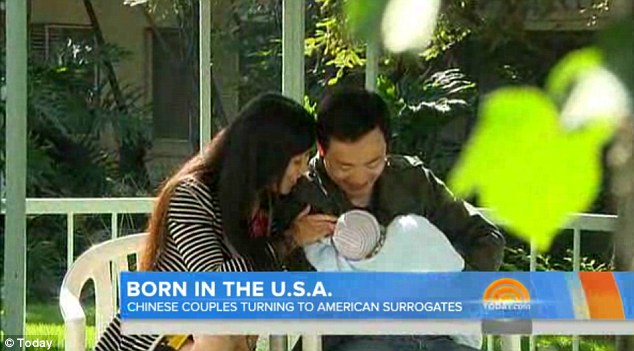 Wealthy Chinese couples paying $120,000 for American surrogates to increase their children's chances of getting into an Ivy League school